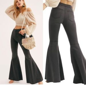 Free People Just Float On Bell Bottom Jeans